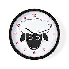 Sherry the Sheep Wall Clock