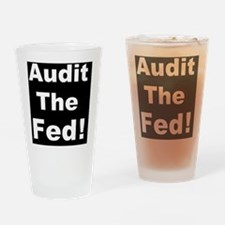 Audit the fedd Drinking Glass