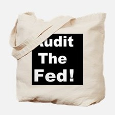 Audit the feddbutton Tote Bag