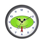 Snidely the Snake Wall Clock