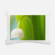 Lily of the Valley (Conv Rectangular Canvas Pillow