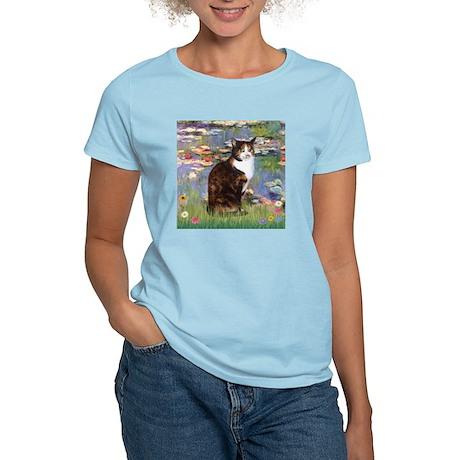 Lilies & Calico Cat Women's Light T-Shirt