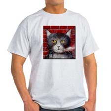 Billy the Pool-Playing Cat T-Shirt