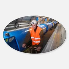 LHC tunnel Decal