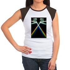 Light through prisms Women's Cap Sleeve T-Shirt