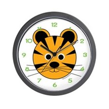 Timmy the Tiger Wall Clock