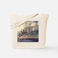 uss shenandoah framed panel print Tote Bag
