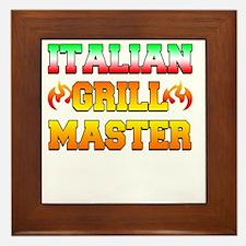 Italian Grill Master Framed Tile