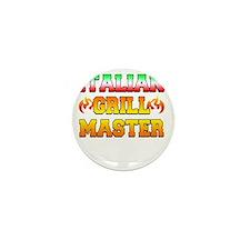 Italian Grill Master Mini Button