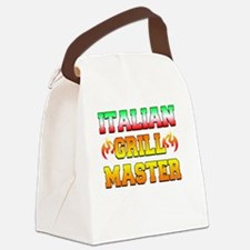 Italian Grill Master Canvas Lunch Bag