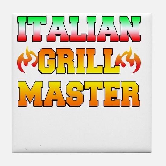 Italian Grill Master Tile Coaster