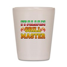 Italian Grill Master Shot Glass