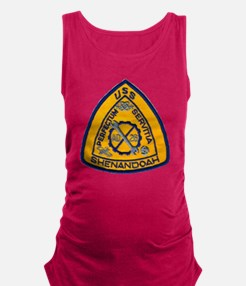 uss shenandoah patch transparen Maternity Tank Top