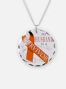 My Husband is a Survivor Necklace