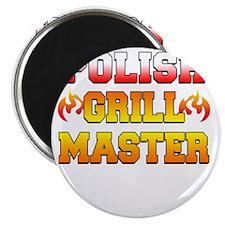 Polish Grill Master Apron Magnet