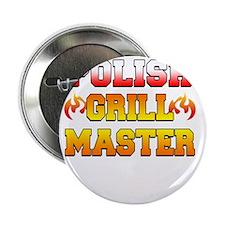 """Polish Grill Master Apron 2.25"""" Button"""