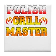 Polish Grill Master Apron Tile Coaster