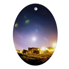 Lens flare Oval Ornament