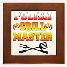 Polish Grill Master Apron Framed Tile