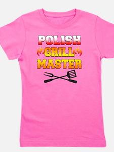 Polish Grill Master Apron Girl's Tee
