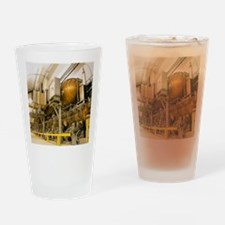 LEP particle collider Drinking Glass