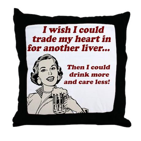 I Wish Throw Pillow