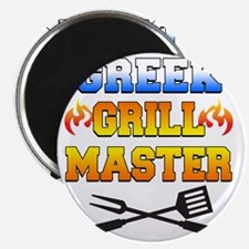 Greek Grill Master Arpon Magnet