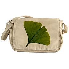 Leaf of Ginkgo biloba Messenger Bag