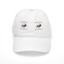 Canadian Elk Baseball Cap