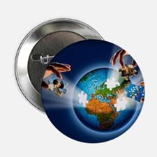 "Learning about the Earth, artwork 2.25"" Button"