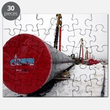 Laying a gas pipe Puzzle
