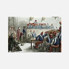 Lavoisier's trial, 1794 Rectangle Magnet