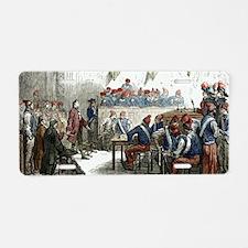 Lavoisier's trial, 1794 Aluminum License Plate