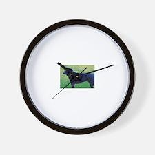 Xander Dog Wall Clock