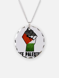 Free Palestine Necklace