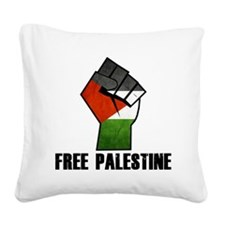 Free Palestine Square Canvas Pillow