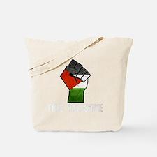 Free Palestine White Tote Bag