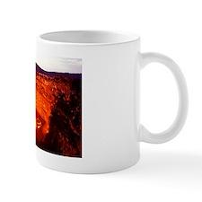 Lava lake, Africa Mug