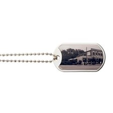 Great Outdoors Cafe BW CL Dog Tags