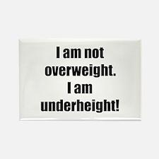 Overweight Underheight Rectangle Magnet