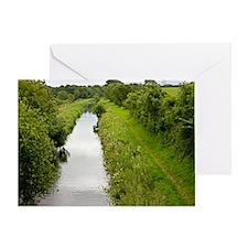 Lancaster Canal, UK Greeting Card