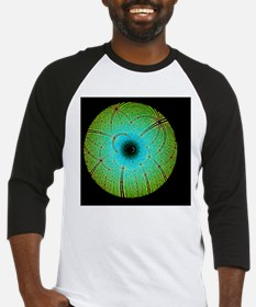 Laue diffraction of enzyme Rubisco Baseball Jersey