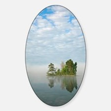 Lake Vattern, Sweden Sticker (Oval)