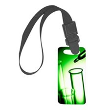 Laboratory glassware Luggage Tag
