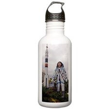 Korean astronaut monum Water Bottle