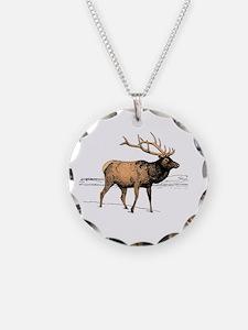 Canadian Elk Necklace