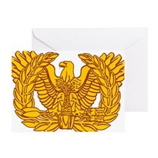 warrant officer eagle Greeting Card