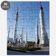 Kennedy Space Center Rocket Garden Puzzle