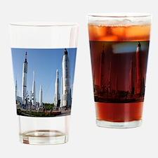Kennedy Space Center Rocket Garden Drinking Glass