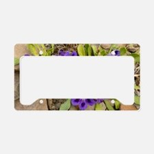 Karoo violets (Aptosimum indi License Plate Holder